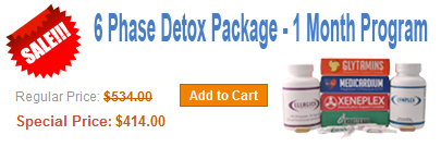 6 Phase Detox 30 Days Cleanse Package