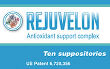 REJUVELON ANTIOXIDANT SUPPORT FOR GRAY HAIR, HAIR LOSS, WRINKLES & ERECTION STRENGTH