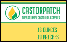 Castorpatch Transdermal Castor Oil Complex